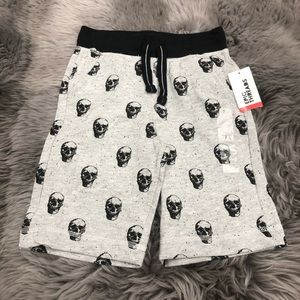 Epic Threads Knit Shorts: Skull (PM1505)